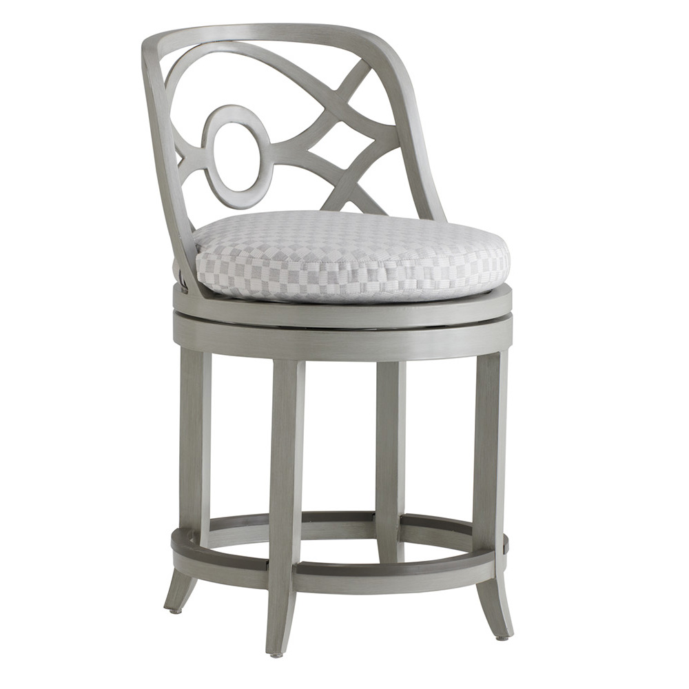 Tommy Bahama Silver Sands Swivel Counter Stool - 3945-17SW