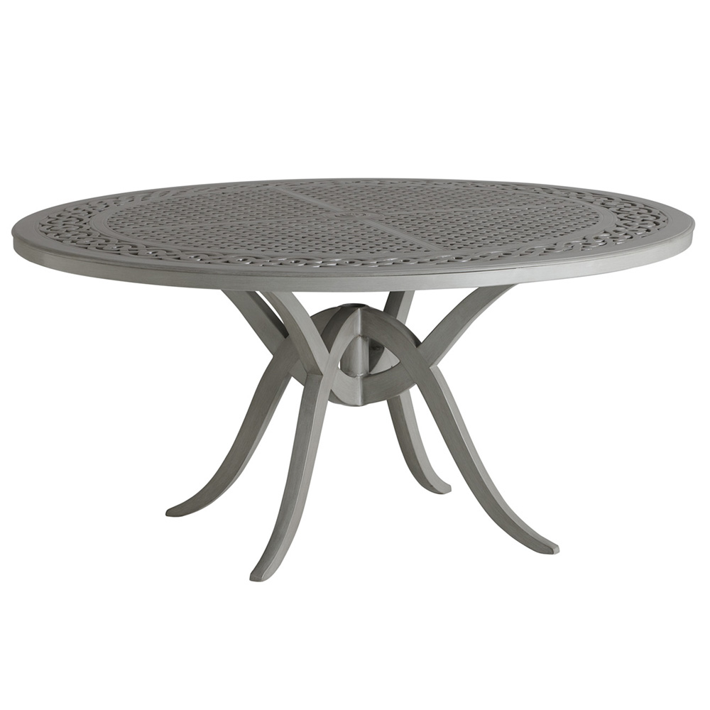 "Tommy Bahama Silver Sands 60"" Round Dining Table - 3945-875"