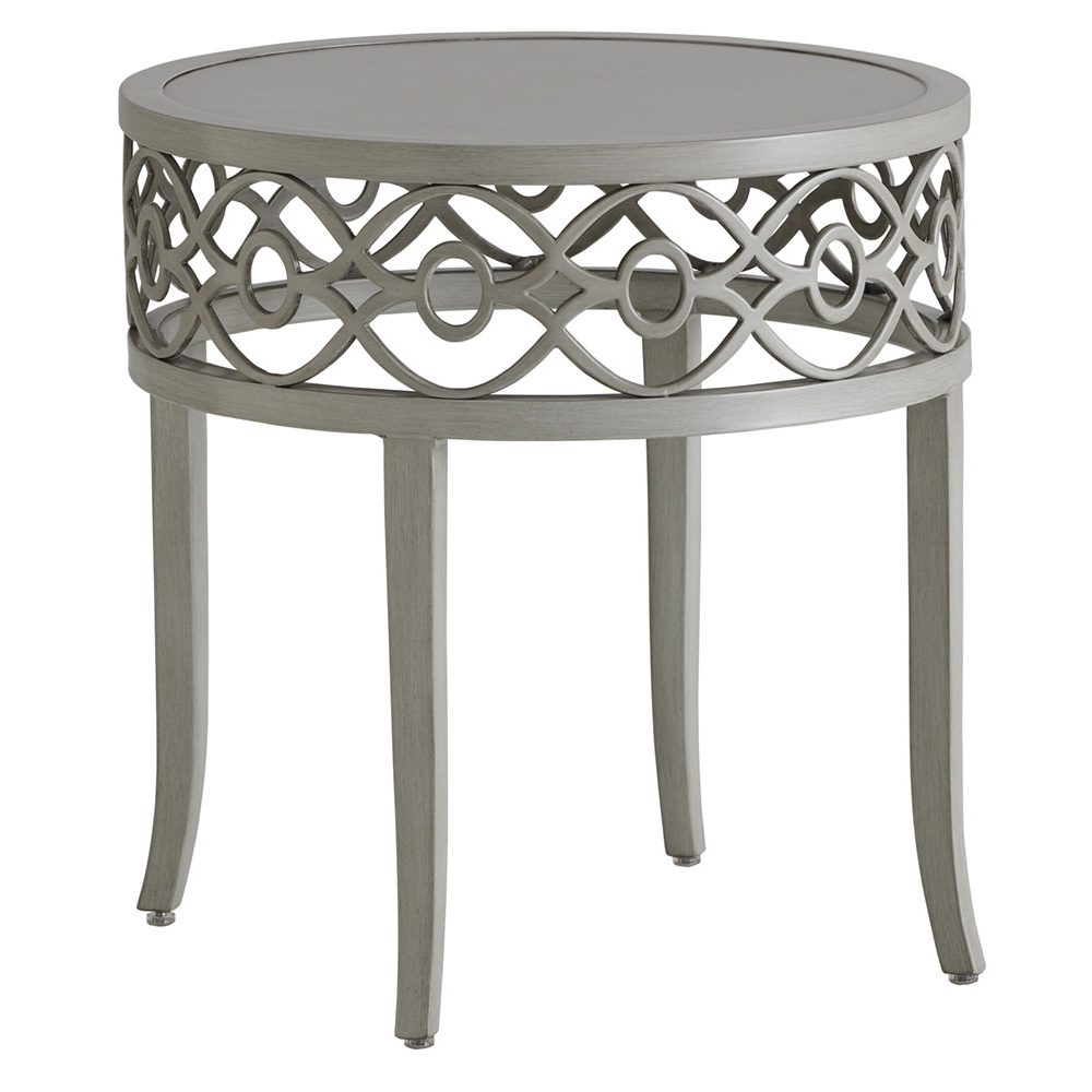 Tommy Bahama Silver Sands Round End Table - 3945-957