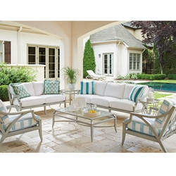 Tommy Bahama Silver Sands Outdoor Furniture Set - TB-SILVERSANDS-SET1
