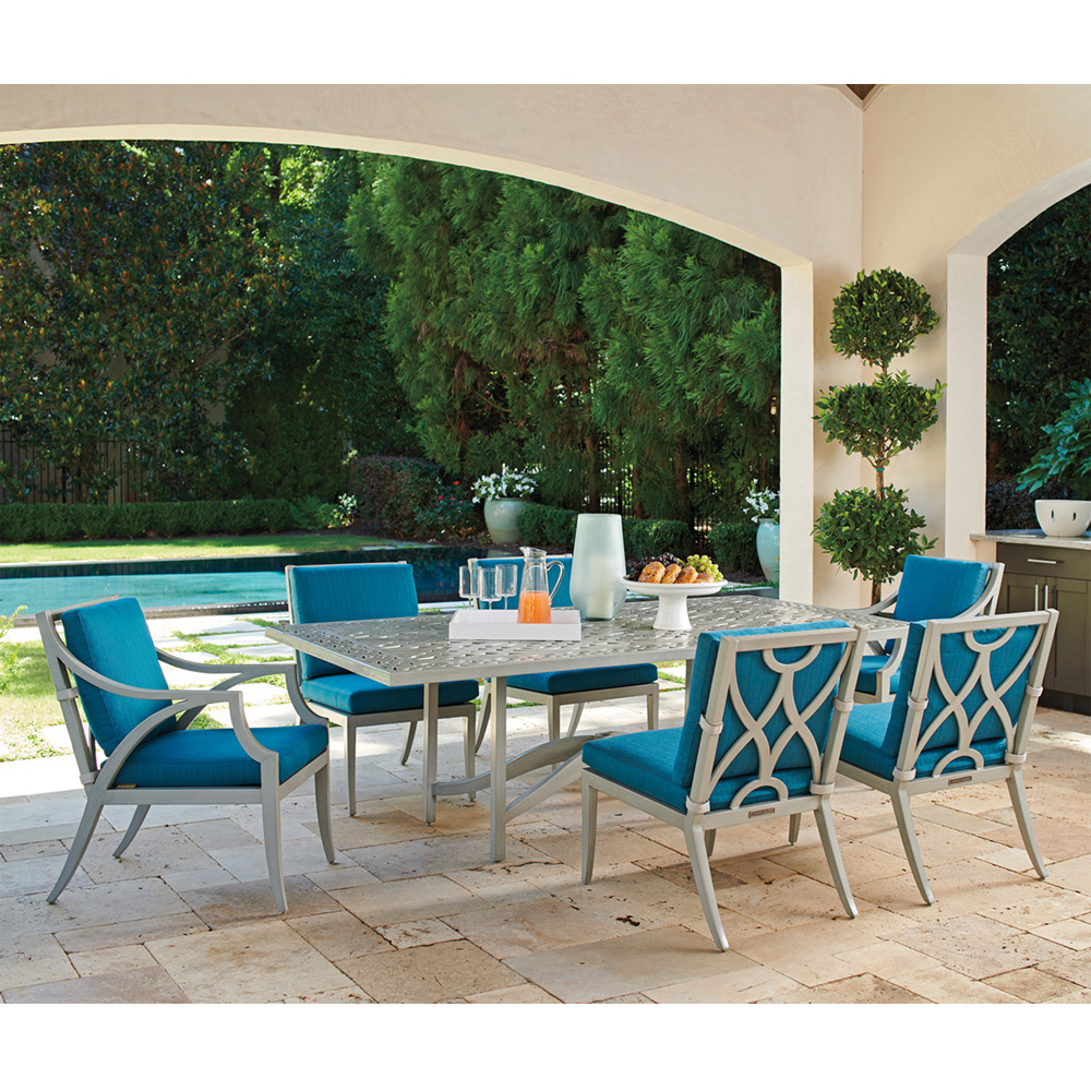 Tommy Bahama Silver Sands Patio Dining Set for 6 - TB-SILVERSANDS-SET3
