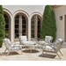 Tommy Bahama Silver Sands Outdoor Lounge Chair Set - TB-SILVERSANDS-SET4