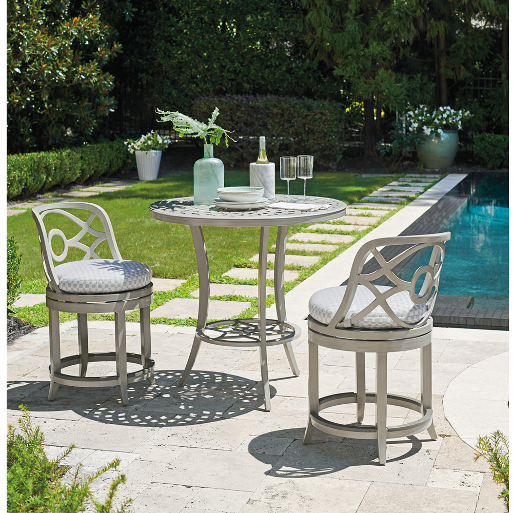 Tommy Bahama Silver Sands Counter Height Outdoor Set - TB-SILVERSANDS-SET5