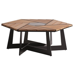 Tommy Bahama South Beach Hexagon Cocktail Table - 3940-947