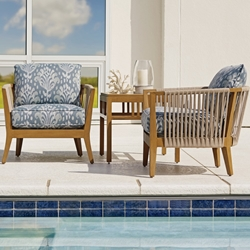 Tommy Bahama St Tropez Cushion Outdoor Occasional Chair Set - TB-STTROPEZ-SET4