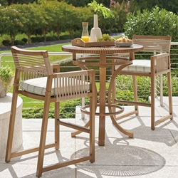 Tommy Bahama St Tropez Outdoor Bar Set for 2 - TB-STTROPEZ-SET5