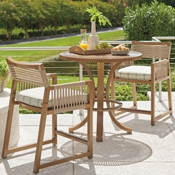 Tommy Bahama St Tropez Outdoor Counter Height 3 Piece Patio Set - TB-STTROPEZ-SET6