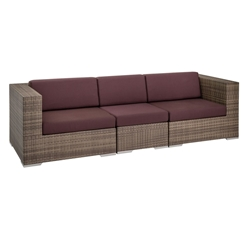 Tropitone Arzo Woven Cushion Modular Outdoor Sofa - TT-ARZO-SET9