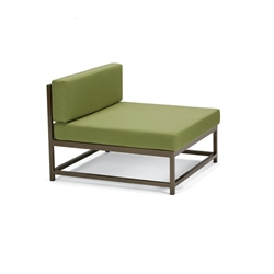 "Tropitone Cabana Club Armless Sectional Module - 15"" Seat Height - 591010MC"