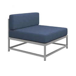 "Tropitone Cabana Club Armless Sectional Module - 17"" Seat Height - 591610MC"