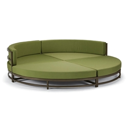 Tropitone Cabana Club Party Lounger Quarter Sectional Set - TT-CABANACLUB-SET16