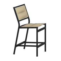Tropitone Cabana Club Padded Sling Armless Counter Height Stool - 591429PS-25