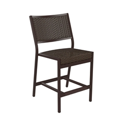 Tropitone Cabana Club Woven Armless Counter Height Stool - 591529WS-25
