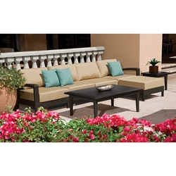 Tropitone Evo Woven Outdoor Sectional Sofa Set - TT-EVO-SET11