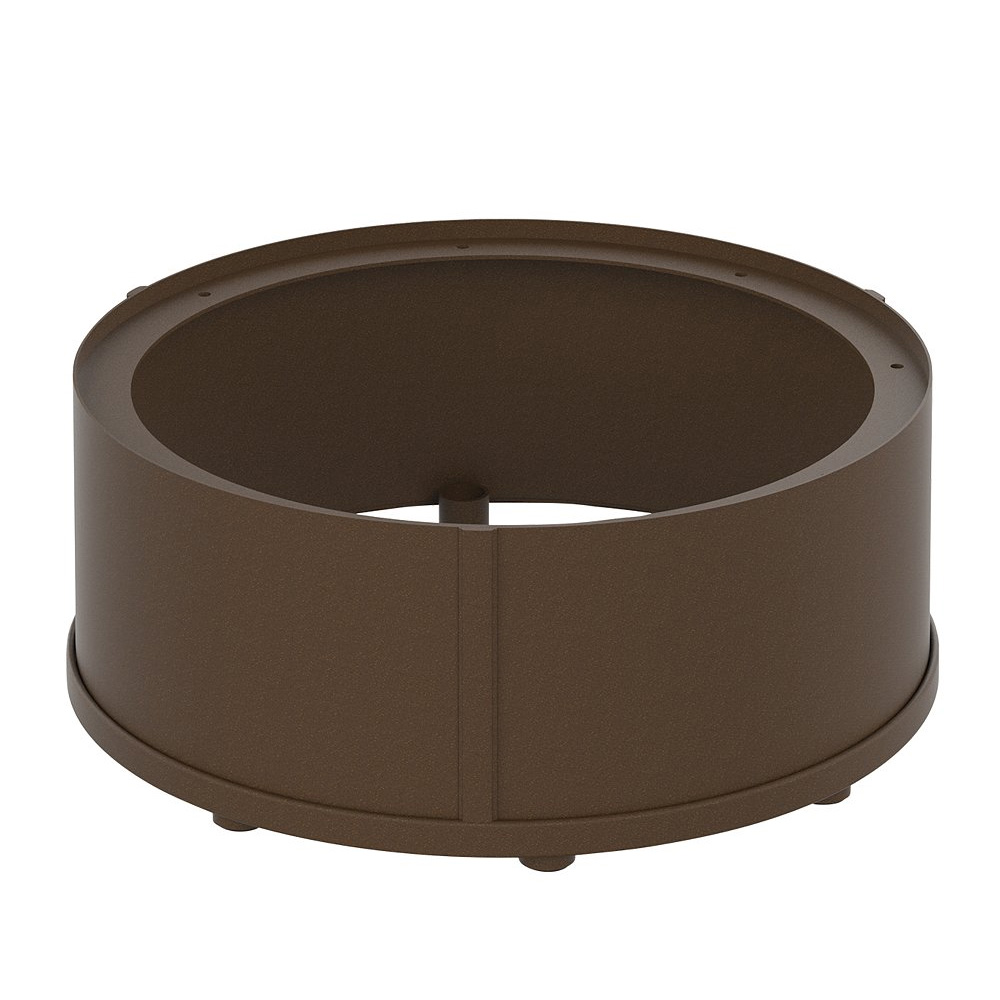 "Tropitone Counter Height Round Fire Pit Riser for 24"" Round Base - RFP15RSR-34"