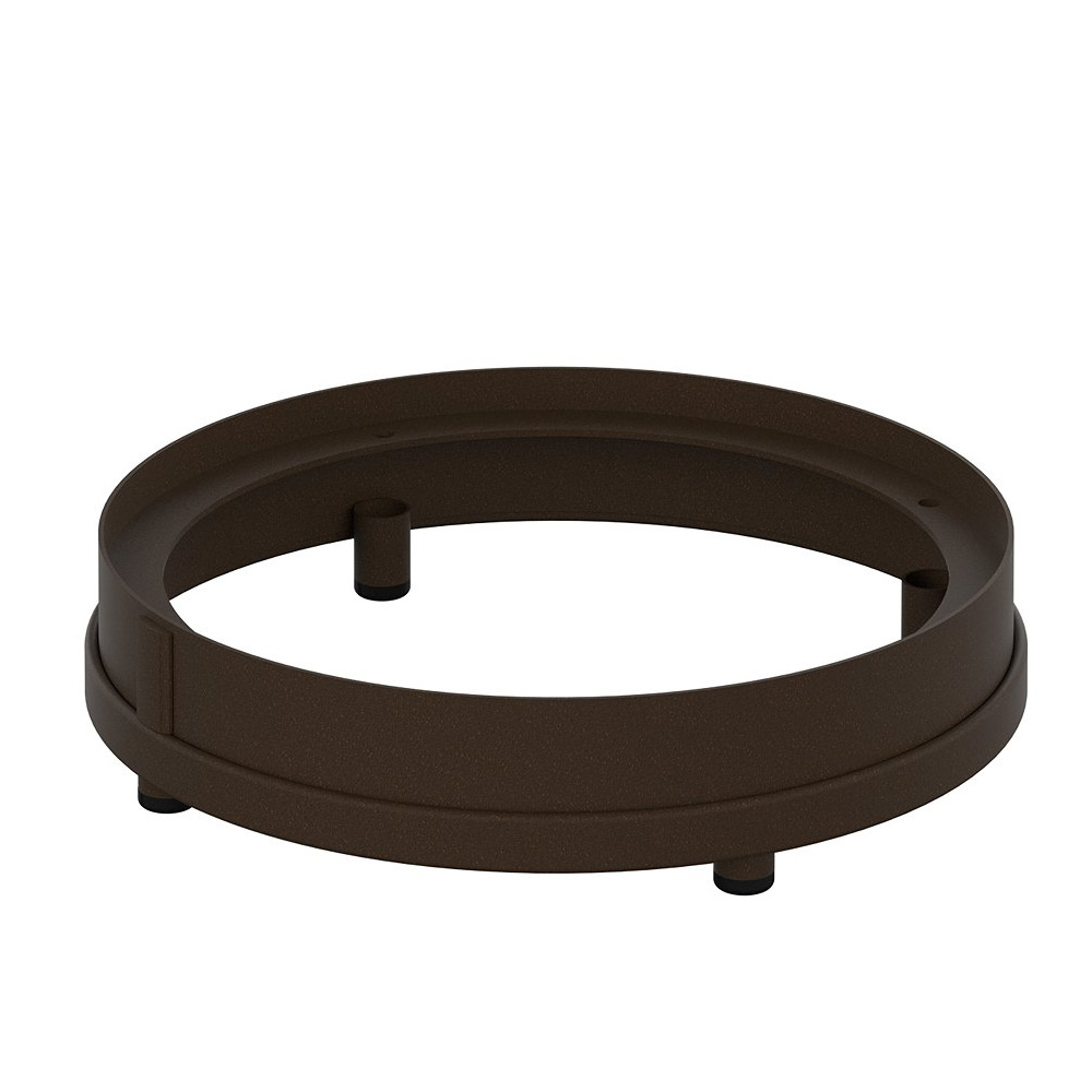 "Tropitone Dining Height Round Fire Pit Riser for 15 1/2"" Round Base - RFP16RSR-28"