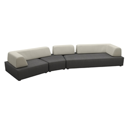 Tropitone Fit Upholstered Outdoor Modular Sectional - TT-FIT-SET2