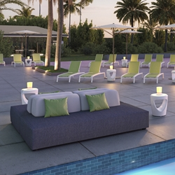 Tropitone Fit Upholstered Outdoor Modular Set - TT-FIT-SET3