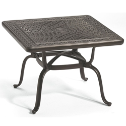 "Tropitone Cast Garden Terrace 31"" Square End Table - 820651"