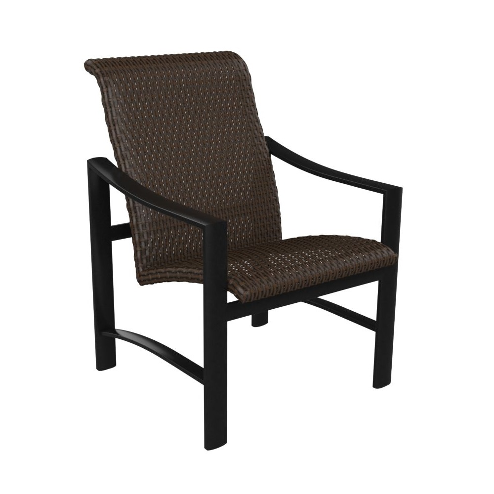 Tropitone Kenzo Woven Dining Chair - 381537WS
