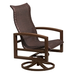 Tropitone Lakeside Woven Swivel Action Lounger - 740525NTWS