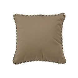 "Tropitone 16"" Square Throw Pillow with Cord Welt - TP16SQCD"