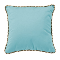 "Tropitone 20"" Square Throw Pillow with Cord Welt - TP20SQCD"