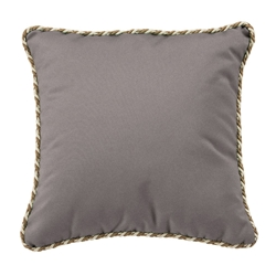 "Tropitone 24"" Square Throw Pillow with Cord Welt - TP24SQCD"