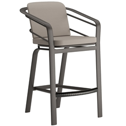 Tropitone Prime Cushion Stationary Bar Stool - 621926