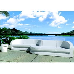 Tropitone Radius Outdoor Furniture Sectional Set - TT-RADIUS-SET2