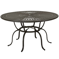 "Tropitone Cast Spectrum 66"" Round Counter Umbrella Table - 800161-34"