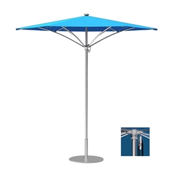 Tropitone Trace 6 Hexagon Patio Umbrella with Pulley Lift - RH006PS