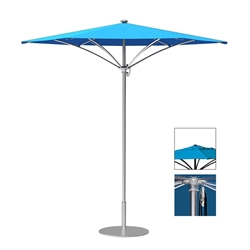 Tropitone Trace 6 Hexagon Patio Umbrella with Pulley Lift and Vent - RH006PSV
