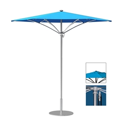 Tropitone Trace 8 Hexagon Patio Umbrella with Pulley Lift and Vent - RH008PSV
