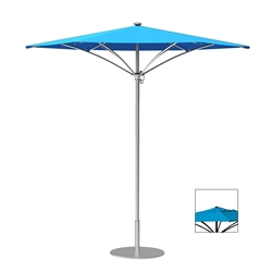 Tropitone Trace 9 Hexagon Patio Umbrella with Manual Lift and Vent - RH009MSV