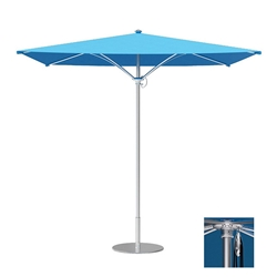 Tropitone Trace 6 Square Patio Umbrella with Pulley Lift - RS006PS