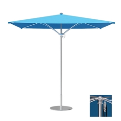 Tropitone Trace 8 Square Patio Umbrella with Pulley Lift - RS008PS