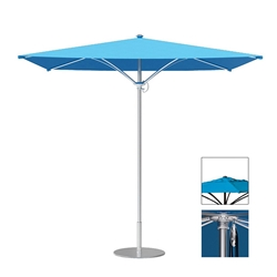 Tropitone Trace 8 Square Patio Umbrella with Pulley Lift and Vent - RS008PSV