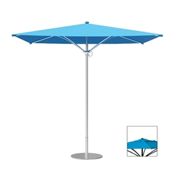 Tropitone Trace 10 Square Patio Umbrella with Manual Lift and Vent - RS010MSV