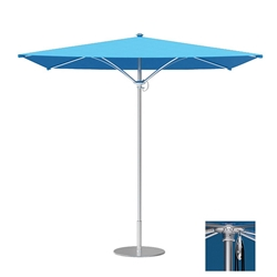 Tropitone Trace 10 Square Patio Umbrella with Pulley Lift - RS010PS