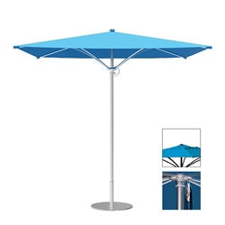 Tropitone Trace 10 Square Patio Umbrella with Pulley Lift and Vent - RS010PSV