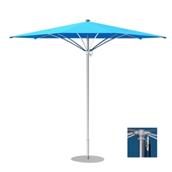 Tropitone Trace 10 Triangular Patio Umbrella with Pulley Lift - RT010PS