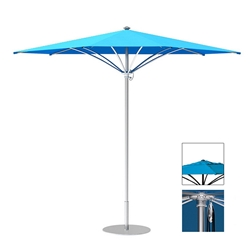 Tropitone Trace 10 Triangular Patio Umbrella with Pulley Lift and Vent - RT010PSV