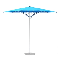 Tropitone Trace 12 Triangular Patio Umbrella with Manual Lift - RT012MS