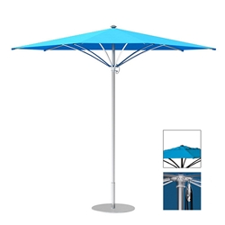Tropitone Trace 12 Triangular Patio Umbrella with Pulley Lift and Vent - RT012PSV