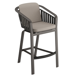 Tropitone Trelon Cushion Stationary Bar Stool - 141926