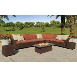 Tropitone Vela Woven Outdoor Sectional Set - TT-VELA-SET1