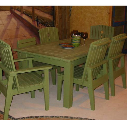 Uwharrie Chair Behren's 69 Inch Rectangular Dining Table - B091