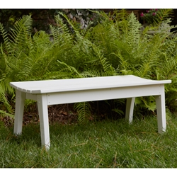 Uwharrie Chair Behrens Two-Seat Bench - B097