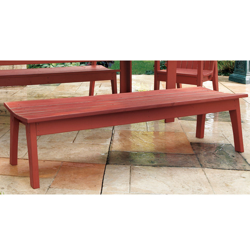 Uwharrie Chair Behren's Four-Seat Bench - B099
